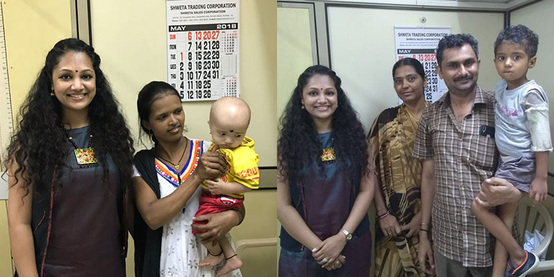 Ankita visits Smile Train programs in India